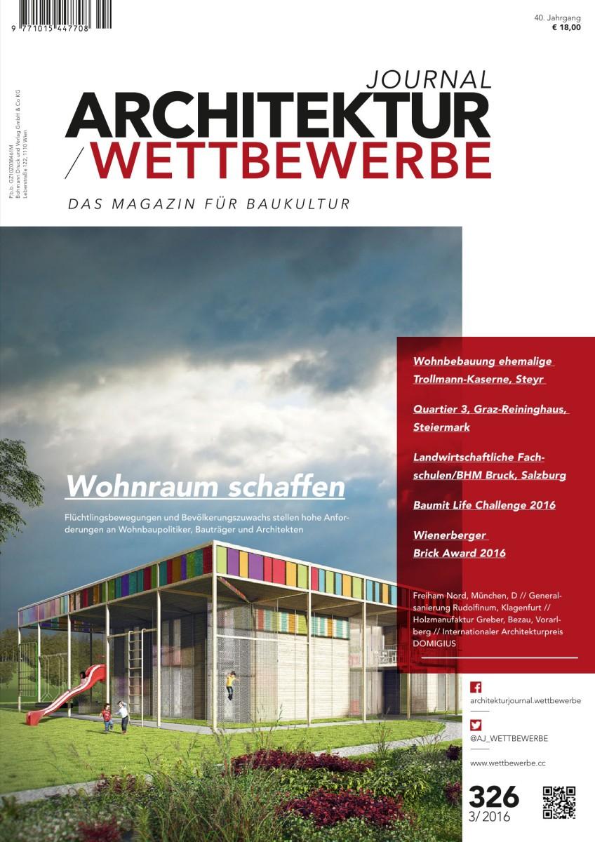 ARCHITEKTURJOURNAL / WETTBEWERBE